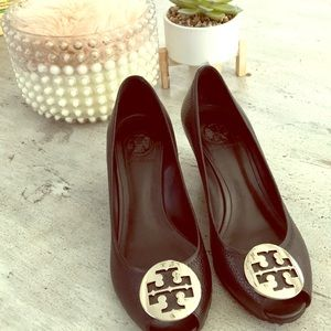 TORY BURCH black platform